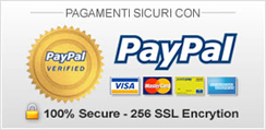 Secure Payments width Paypall