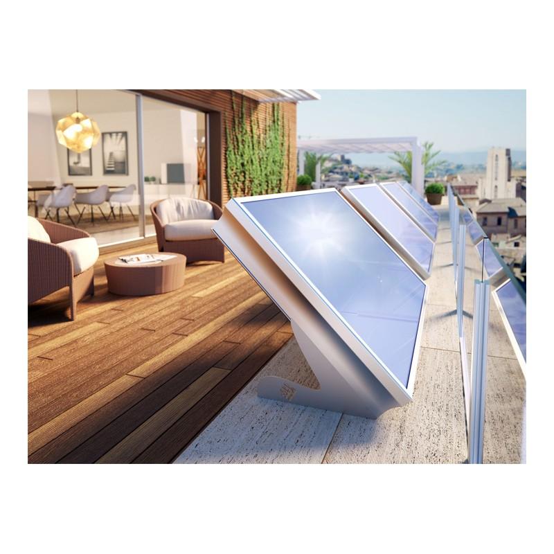 ... Ambientazione Terrazzo · Risparmio Energetico · Sistema Stratos