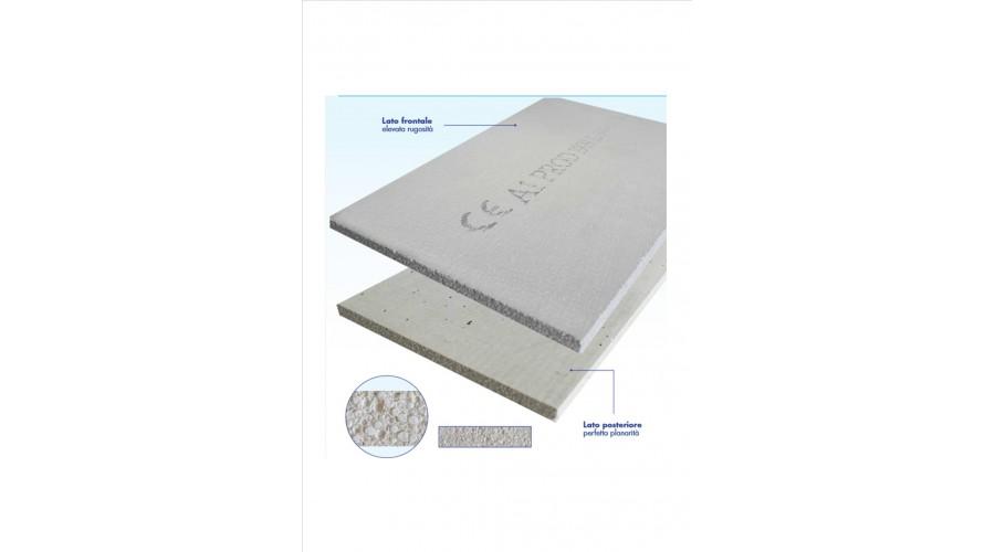 Lastra cemento fibrorinforzato 200 x 120 cm, spessore 12,5 mm