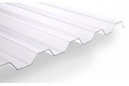 Pannello grecato in policarbonato trasparente